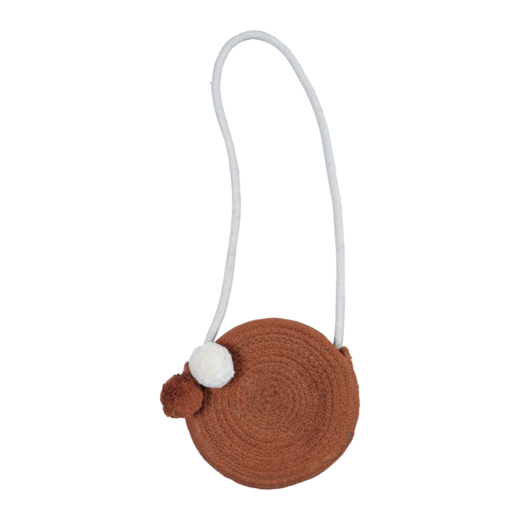 Fabelab Rope purse, Cinnamon